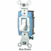 Leviton 1201-2W 15A, 120/277V, Single-Pole AC Quiet Switch, White