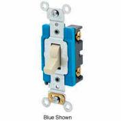 Leviton 1201-Lhi 15a, 120v, Illuminated Off Single-Pole Ac Quiet Switch, Ivory - Min Qty 12