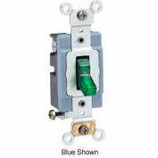 Leviton 1201-Plg Neutral Single-Pole Ac Quiet Switch, Self Grounding, Gray - Min Qty 14