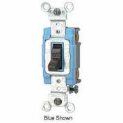 Leviton 1202-2 15a, 120/277v, Double-Pole Ac Quiet Switch, Brown - Min Qty 15