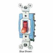 Leviton 1203-Plc 15a, 120v, Neutral 3-Way Ac Quiet Switch, Clear - Min Qty 7