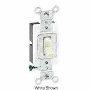 Leviton 1221-S 20a, 120/277v, Single-Pole Ac Quiet Switch, Brown - Min Qty 16