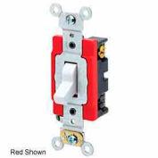 Leviton 1223-2 20a, 120/277v, 3-Way Ac Quiet Switch, Self Grounding, Brown - Min Qty 24