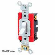 Leviton 1223-2gy 20a, 120/277v, 3-Way Ac Quiet Switch, Gray - Min Qty 24