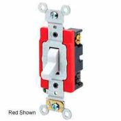 Leviton 1224-2 20a, 120/277v, 4-Way Ac Quiet Switch, Extra Brown - Min Qty 8
