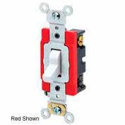Leviton 1224-2gy 20a, 120/277v, 4-Way Ac Quiet Switch, Gray - Min Qty 8
