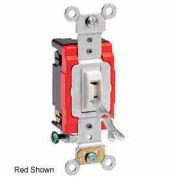 Leviton 1224-2l 20a, 120/277v, Locking 4-Way Ac Quiet Switch, Brown - Min Qty 6