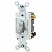 Leviton 1224-S 20a, 120/277v, 4-Way Ac Quiet Switch, Grounding, Brown - Min Qty 6