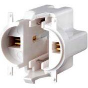 Leviton 26719-300 Compact Fluorescent Lampholder, White