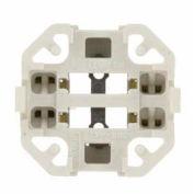 Leviton 26725-422 Vertical Snap-In (Bottom) Fluorescent Lampholder For 18 Watt Lamps