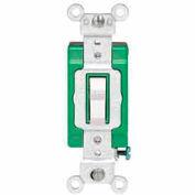 Leviton 3031-2i 30a, 120/277v, Single-Pole Ac Quiet Switch, Ivory - Min Qty 10
