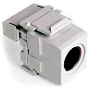 Leviton 40734-Svw Quickport 110-Type To Female S-Video, White - Min Qty 15