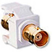 Leviton 40832-Bt Banc Quickport Adapter, Gold-Plated, Color Light Almond - Min Qty 21