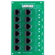 Leviton 47603-12m 4x12 Telephone Distribution Board On Plastic Shelf Bracket - Min Qty 3