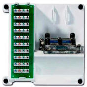 Leviton 47603-1g4 Compact Series Telephone And 4-Way Video Panel, White - Min Qty 3