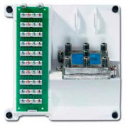 Leviton 47603-1g6 Compact Series Telephone And 6-Way Video Panel, White - Min Qty 3