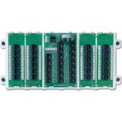 Leviton 47603-24P 24-Port Structured Media Panel, White