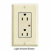 Leviton 5280 15a 125v Decora Duplex Receptacle, Self Grounding, Brown - Min Qty 5