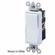 Leviton 5604-2gy 15a, 120/277v, Decora Rocker 4-Way Ac Quiet Switch, Gray - Min Qty 15