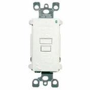 Leviton GFTR1-T SmartlockPro Self-Test GFCI Receptacle, Tamper Resistant, 15A, Light Almond