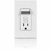 Leviton 7591-W 15a Smartlockpro Combination Receptacle, White - Min Qty 7