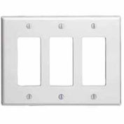 Leviton 80611-T 3-Gang Decora/GFCI Device Decora, Light Almond