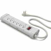 Leviton S1000-PS Surge Power Strip, 6 Outlet, 6-ft Cord, 5-15P Right Angle Plug