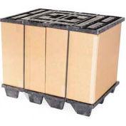 "ORBIS CISF Nestable Plastic Pallet 28x40CISF - 40-1/8""L x 28-1/8""W x 5-5/16""H, 10,000 Lbs. Capacity"