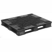 "ORBIS CIISF Stackable Plastic Pallet 40x48CIISF - 47-1/4""L x 39-1/4""W x 5-13/16""H, 30,000 Lbs."