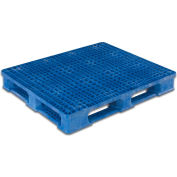 ORBIS USDA - FDA Rackable Pallet with Lip 48x40 RCKO 48 x 40 Blue 5000 Lbs Capacity
