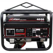 Lifan Power USA LF4000, 3500 Watts, Portable Generator, Gasoline, Electric/Recoil Start, 120/240V