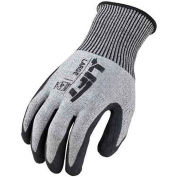 Lift Safety Cut Resistant FiberWire Polyurethane Latex Glove, Large, GFL-12KL