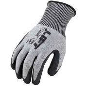 Lift Safety Cut Resistant FiberWire Polyurethane Latex Glove, Medium, GFL-12KM