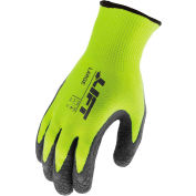 Lift Safety FiberWire™ Latex Coated Gloves, Gray, L, 1 Pair, GFW-15HVL
