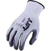 Lift Safety Cut Resistant Staryarn Polyurethane Latex Glove, XL, GSL-12W1L