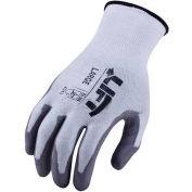 Lift Safety Cut Resistant Staryarn Polyurethane Latex Glove, Medium, GSL-12WM