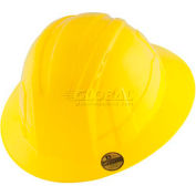 VANTIS VFB Full Brim Hard Hat, Yellow, Type 1, Class E, Non-Vented