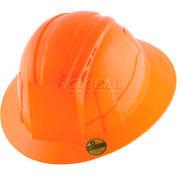 VANTIS VFB Full Brim Hard Hat, Orange, Type 1, Class E, Non-Vented