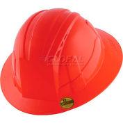 VANTIS VFB Full Brim Hard Hat, Red, Type 1, Class E, Non-Vented