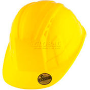 VANTIS VS Standard Brim Hard Hat, Yellow, Type 1, Class C, Vented