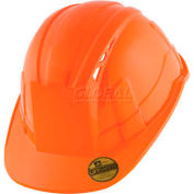 VANTIS VS Standard Brim Hard Hat, Orange, Type 1, Class C, Vented