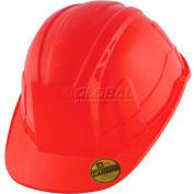 VANTIS VS Standard Brim Hard Hat, Red, Type 1, Class E, Non-Vented
