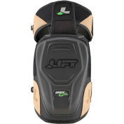 Lift Safety KAH-15K, Apex Gel Knee Guard, Hardshell, 1 Pair, Black/Brown