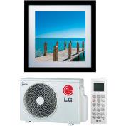 LG Art Cool™ Gallery Inverter Single Zone Duct-Free Split System, 11200 BTU Cool 13300 BTU Heat