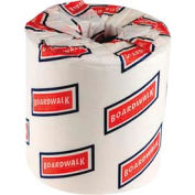 "Boardwalk 2-Ply Standard Bathroom Tissue 4"" x 3"", White 500 Sheets/Roll 96/Case - BWK6145"