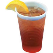 Boardwalk BWK YE-9 - Translucent Plastic Cold Cups, 9 oz., 2500 ct