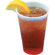Boardwalk BWK YE-9 - Translucent Plastic Cold Cups, 9 oz., 2500 ct