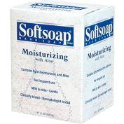 Softsoap Moisturizing Soap W/ Aloe Refill Unscented, 800mL Dispenser 12/Case - CPM01924CT