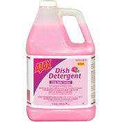 Ajax® Dish Detergent Pink Rose, Gallon Bottle 4/Case - CPM14616CT