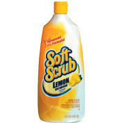 Soft Scrub® Total All Purpose Bath & Kitchen Cleaner, Lemon, 24 Oz. Bottle, 9 Bottles - 00865